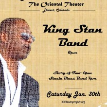 King Stan Band at The Oriental Theater